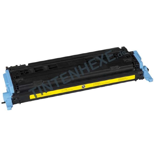 Toner kompatibel zu HP Q6002A 124A Yellow