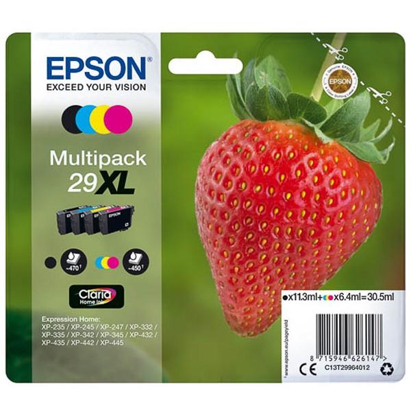 Multipack! Original Epson C13T29964012 / 29XL / T2996 (4)