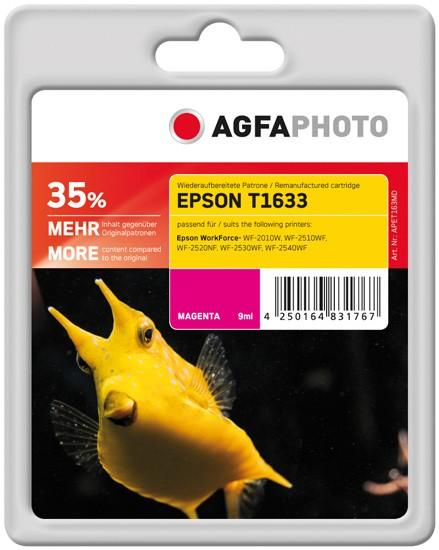 AGFAPHOTO Tintenpatrone Kompatibel zu Epson 16XL-T1633-C13T16334012 Magenta