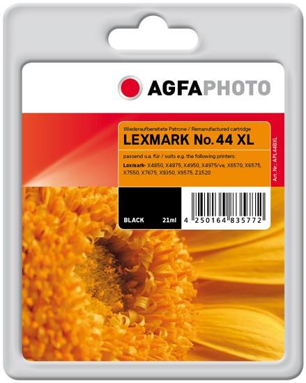 AGFAPHOTO Tintenpatrone Kompatibel zu Lexmark 44XL / 18Y0144E Black