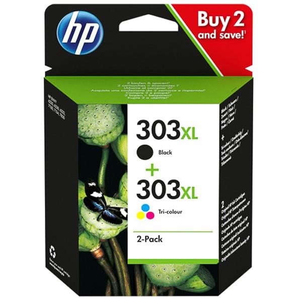 Multipack! HP 303XL 3YN10AE Black+Color (2)