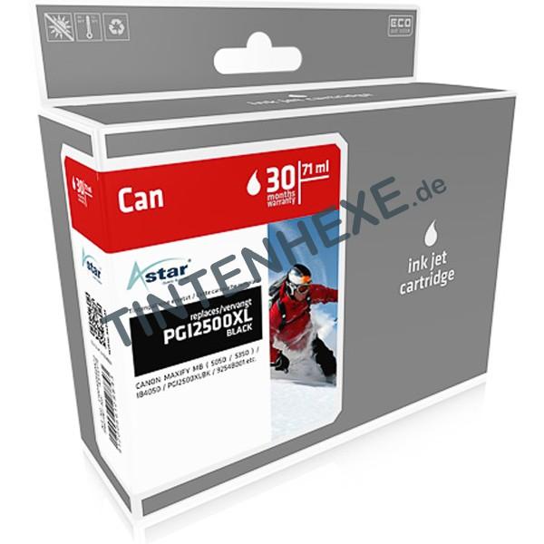 ASTAR Tintenpatrone kompatibel zu Canon PGI-2500XL / 9254B001 Black