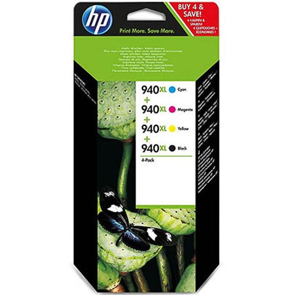 Multipack! Tintenpatronen HP 940XL C2N93AE (4)
