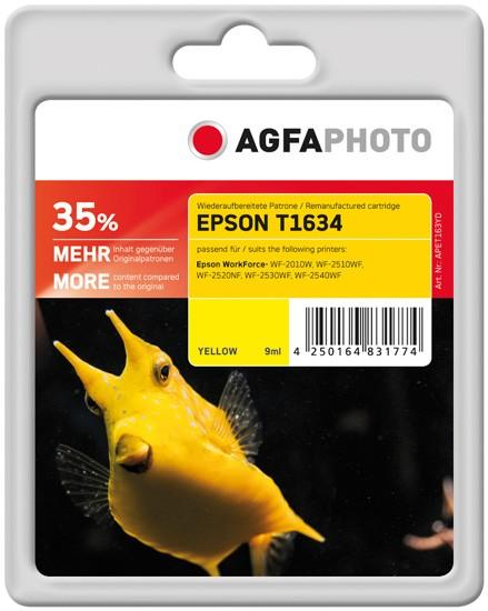 AGFAPHOTO Tintenpatrone Kompatibel zu Epson 16XL-T1634-C13T16344012 Yellow
