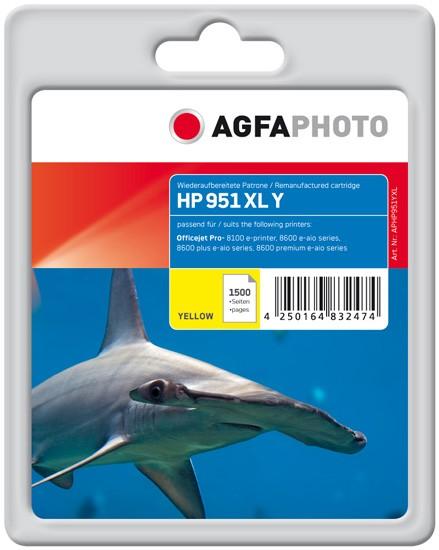 AGFAPHOTO Tintenpatrone kompatibel zu HP 951XL / CN048AE Yellow