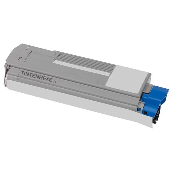 Toner kompatibel zu OKI 43872307 Cyan (8.000 S.)
