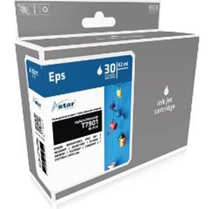 ASTAR Tintenpatrone Kompatibel zu Epson 79XL-T7901-C13T79014010 Black