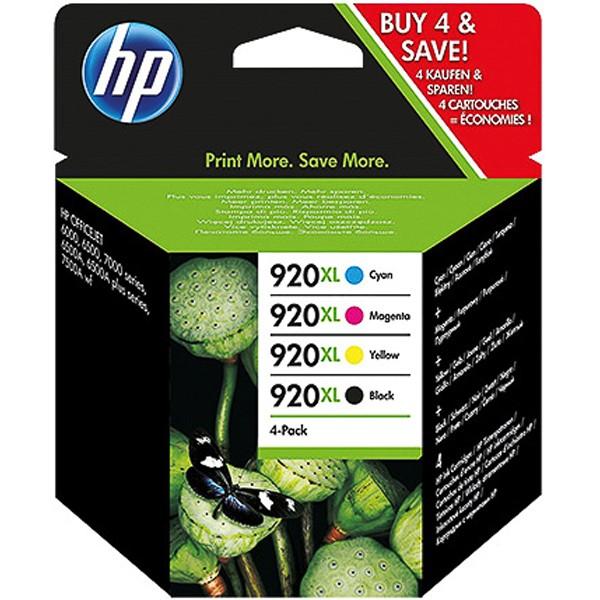 Multipack! Tintenpatronen HP 920XL C2N92AE (4)