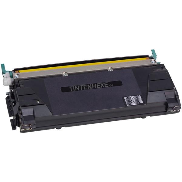Toner kompatibel zu Lexmark C5240YH C5220YS Yellow (5.000 S.)
