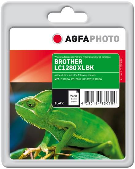 AGFAPHOTO Tintenpatrone kompatibel zu Brother LC1280 XL Black