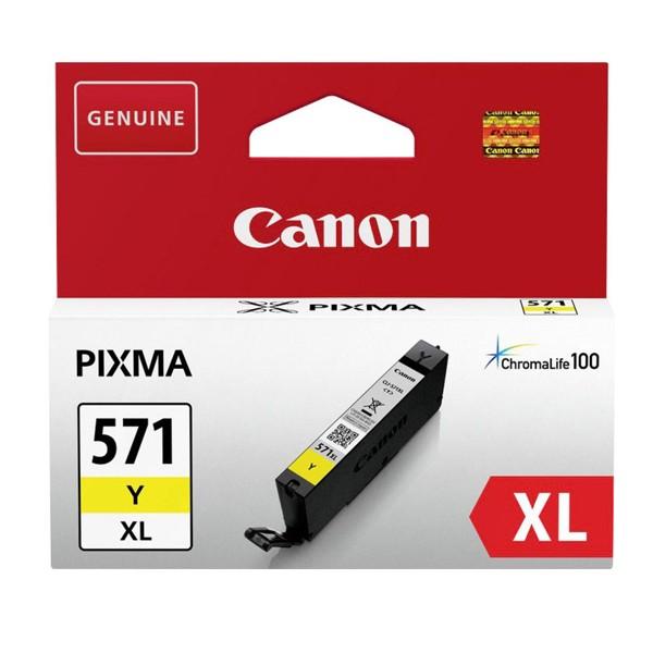 Original Tintenpatronen Canon CLI-571XL 0334C001 Yellow