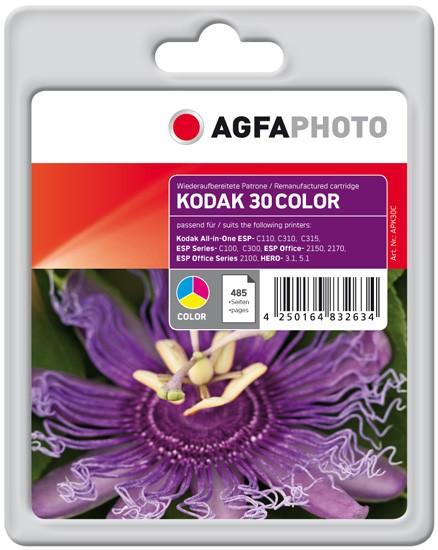 AGFAPHOTO Tintenpatrone kompatibel zu Kodak Nr.30 / 3952348 Color