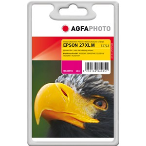 AGFAPHOTO Tintenpatrone kompatibel zu Epson 27XL-T2713-C13T27134012 Magenta