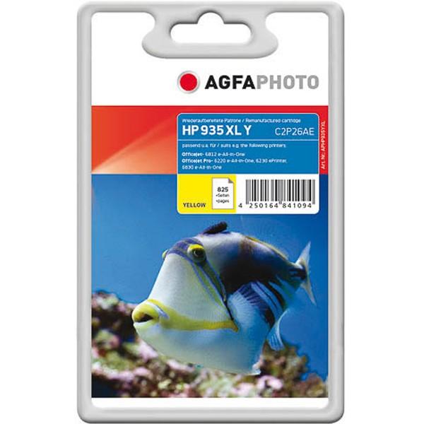 AGFAPHOTO Tintenpatrone kompatibel zu HP 935XL / C2P26AE Yellow