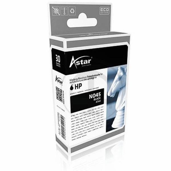 ASTAR Tintenpatrone kompatibel zu HP 45 51645AE Black