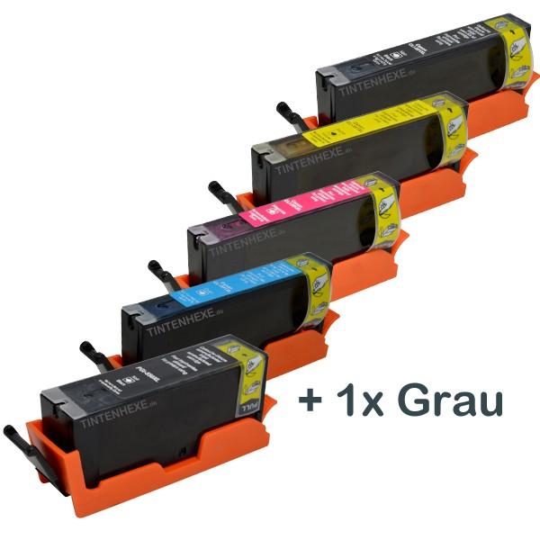 Multipack! Rebuilt Tintenpatronen kompatibel zu Canon PGI-550XL CLI-551XL (6)