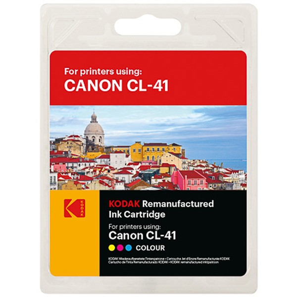 KODAK Tintenpatrone Kompatibel zu Canon CL-41 0617B001 Color (24ml, 420 S.)