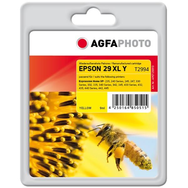 AGFAPHOTO Tintenpatrone kompatibel zu Epson 29XL / T2994 / C13T29944012 Yellow