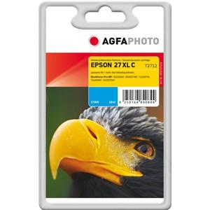 AGFAPHOTO Tintenpatrone kompatibel zu Epson 27XL-T2712-C13T27124012 Cyan