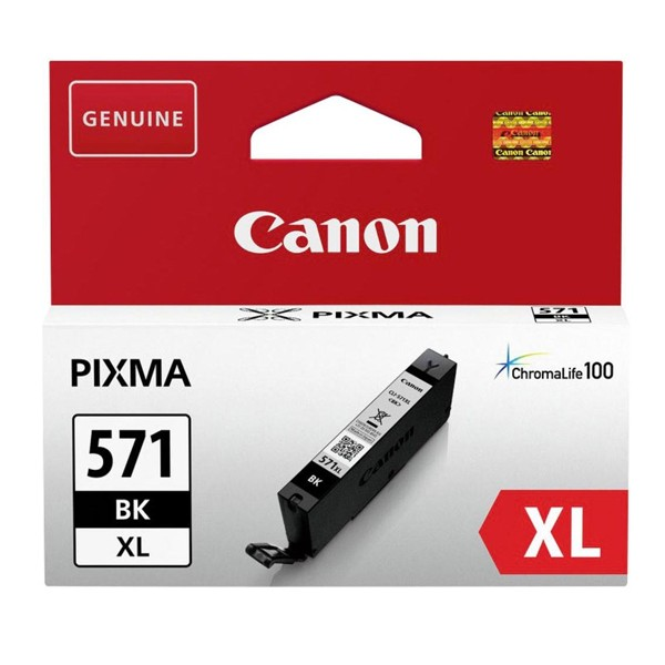 Tintenpatrone Canon CLI-571XL 0331C001 Black