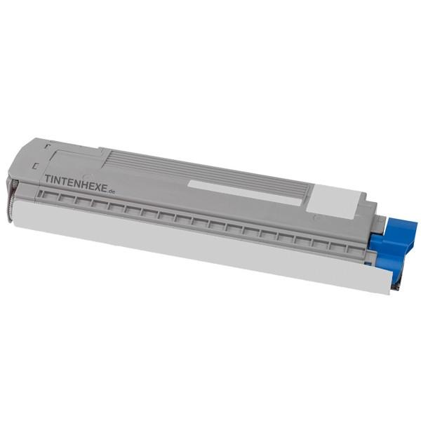 Toner kompatibel zu OKI 44059107 Cyan (8.000 S.)