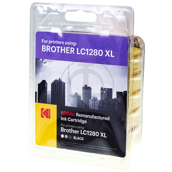 KODAK Tintenpatrone kompatibel zu Brother LC1280XLBK Black