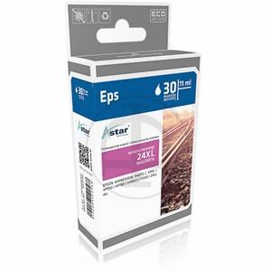 ASTAR Tintenpatrone Kompatibel zu Epson 24XL-T2433-C13T24334012 Magenta