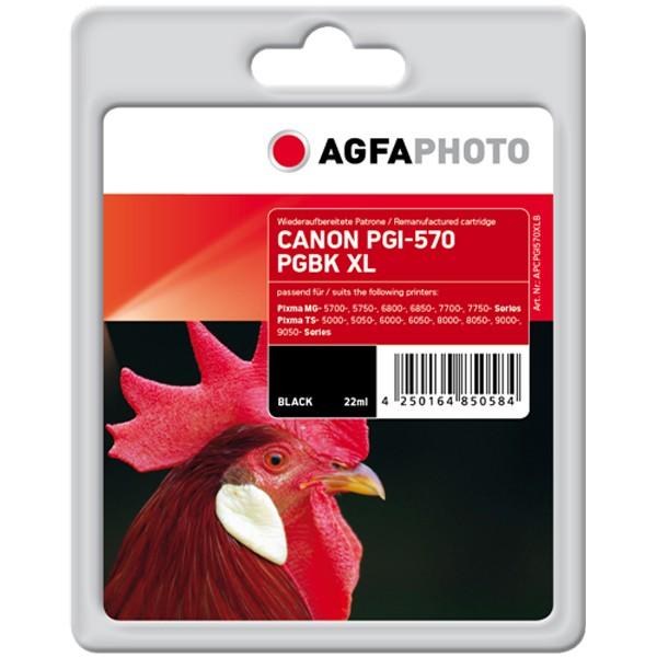 AGFAPHOTO Tintenpatrone kompatibel zu Canon PGI-570XL Black