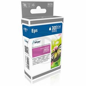 ASTAR Tintenpatrone kompatibel zu Epson 26XL-T2633-C13T26334010 Magenta