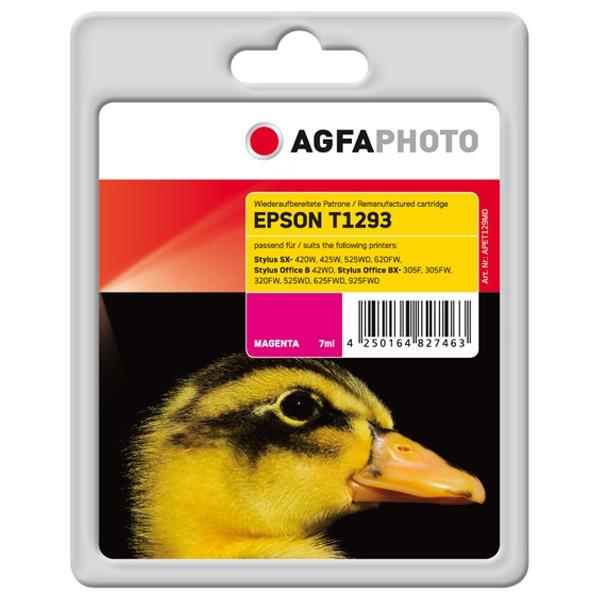 AGFAPHOTO Tintenpatrone kompatibel zu Epson T1293-C13T12934011 Magenta