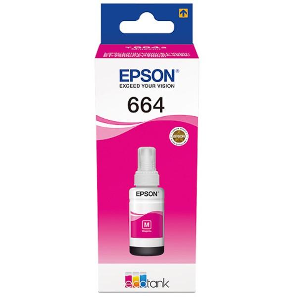 Epson C13T664340 EcoTank 664 Magenta