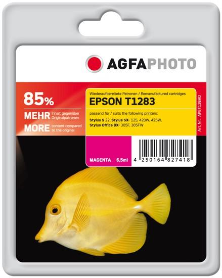 AGFAPHOTO Tintenpatrone kompatibel zu Epson T1283-C13T12834011 Magenta