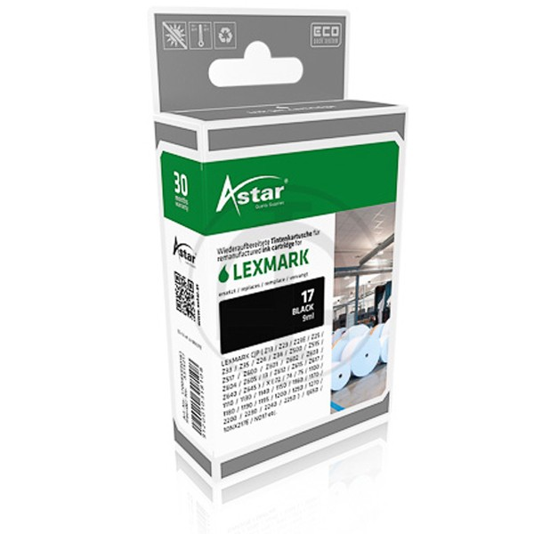 ASTAR Tintenpatrone Kompatibel zu Lexmark 17 10NX217E Color
