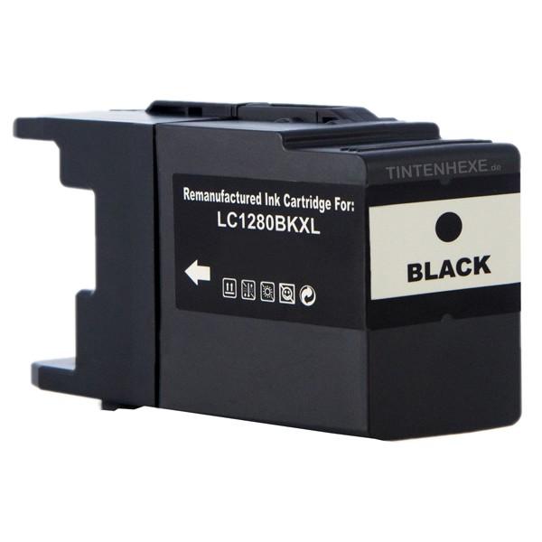 Rebuilt Tintenpatrone kompatibel zu Brother LC1280XLBK Black