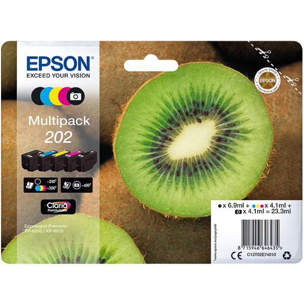 Multipack! Epson C13T02E74010 / 202 (5)