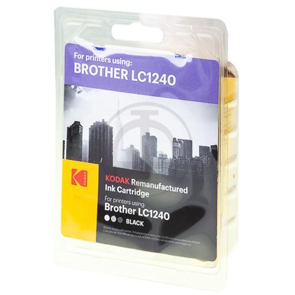 KODAK Tintenpatrone kompatibel zu Brother LC1240BK Black