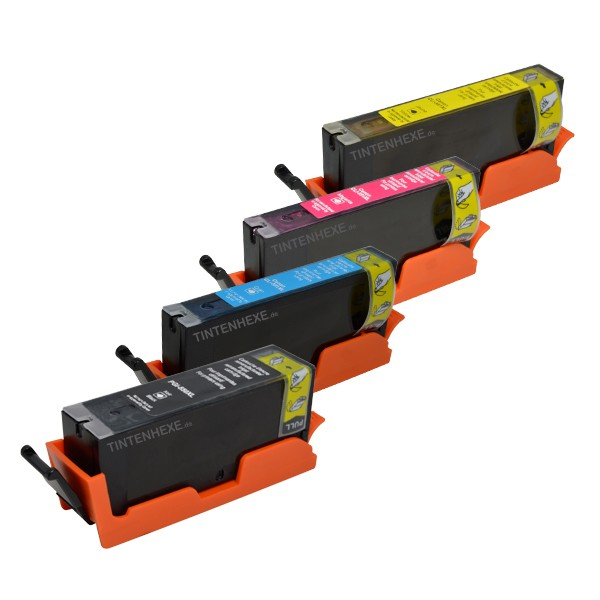 Multipack! Rebuilt Tintenpatronen kompatibel zu Canon PGI-550XL CLI-551XL (4)