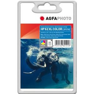 AGFAPHOTO Tintenpatrone kompatibel zu HP 62XL / C2P07AE Color (11,5ml)