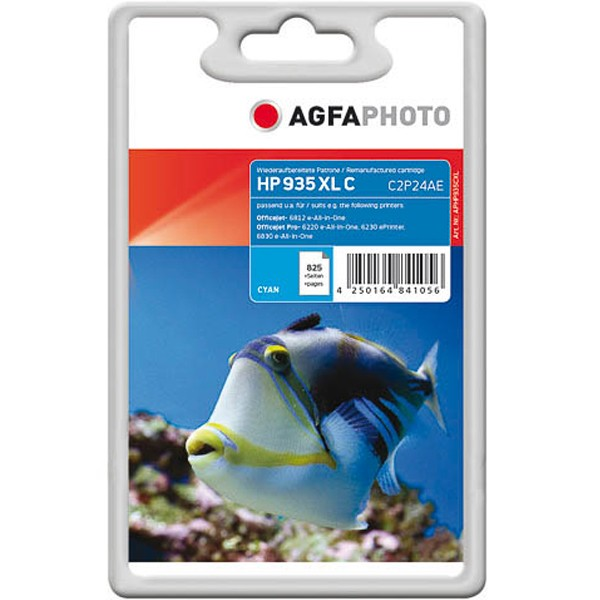AGFAPHOTO Tintenpatrone kompatibel zu HP 935XL / C2P24AE Cyan