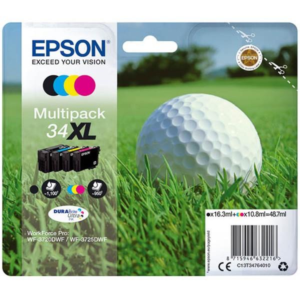 Multipack! Epson 34XL T3476 C13T34764010 (4)