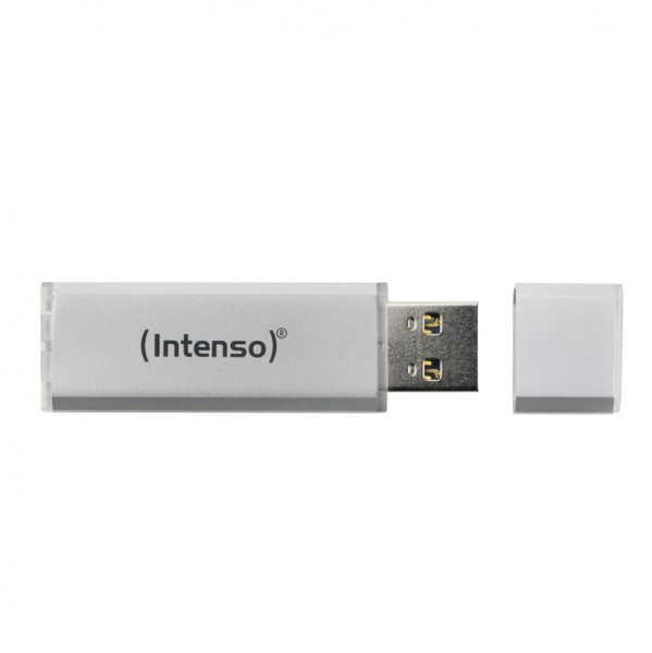 USB-Stick 2.0 (8GB) Intenso 3521462 Alu Line Silver