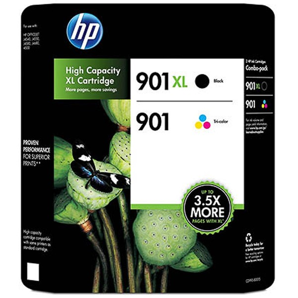 Multipack! Tintenpatronen HP SD519AE HP 901 XL (Black+Color)