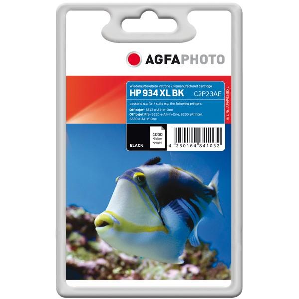 AGFAPHOTO Tintenpatrone kompatibel zu HP 934XL / C2P23AE Black