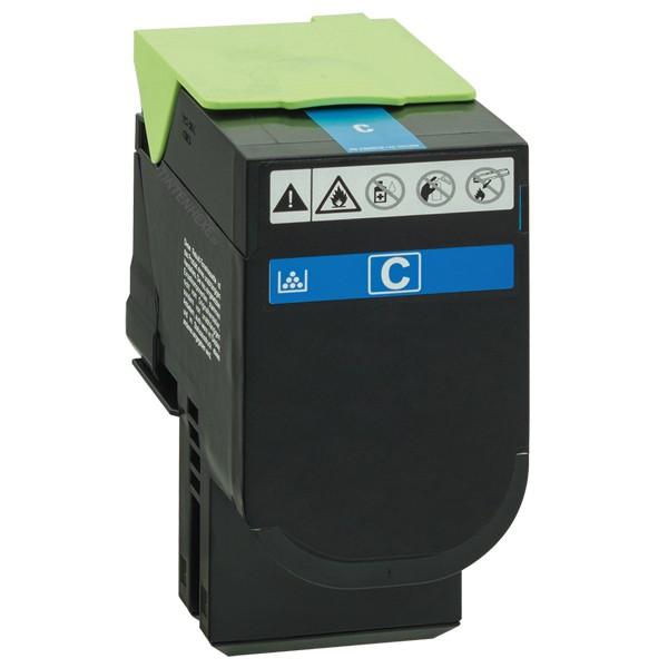 Toner kompatibel zu Lexmark 70C0X20 70C2XC0 Cyan (4.000 S.)