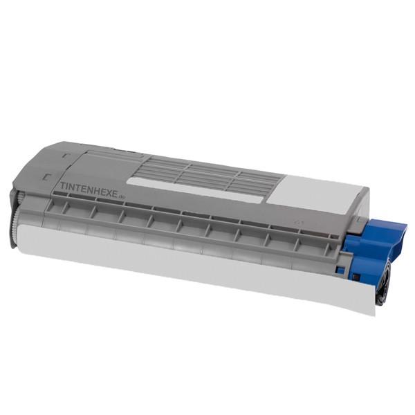 Toner kompatibel zu OKI 45396303 Cyan (6.000 S.)