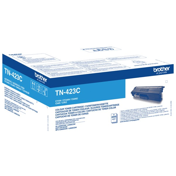 Toner Brother TN-423C Cyan - 4.000 S.