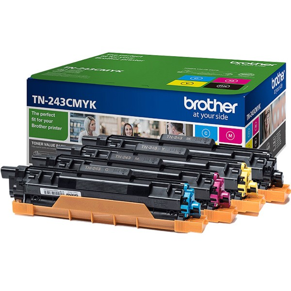 Toner Brother TN-243CMYK Value Pack (4x 1.000 S.)